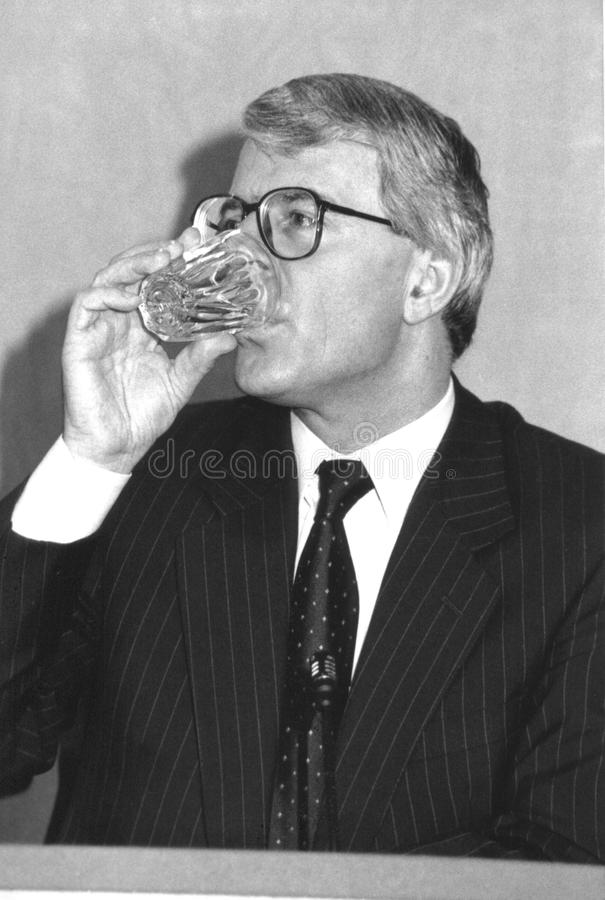 Rt.Hon. John Major stockfotografie