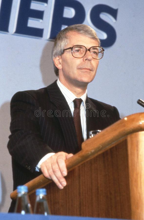 Rt.Hon. John Major stockfoto
