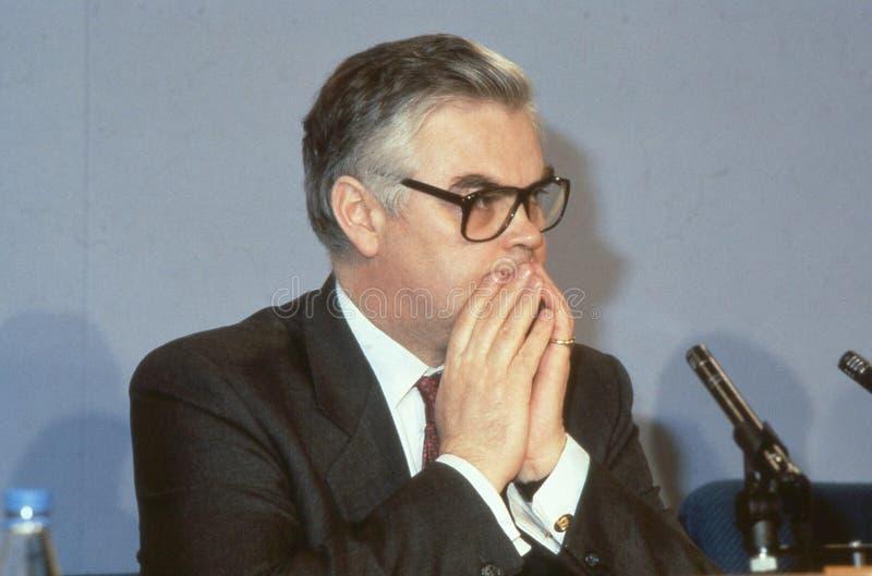 Rt.Hon. Norman Lamont foto de stock