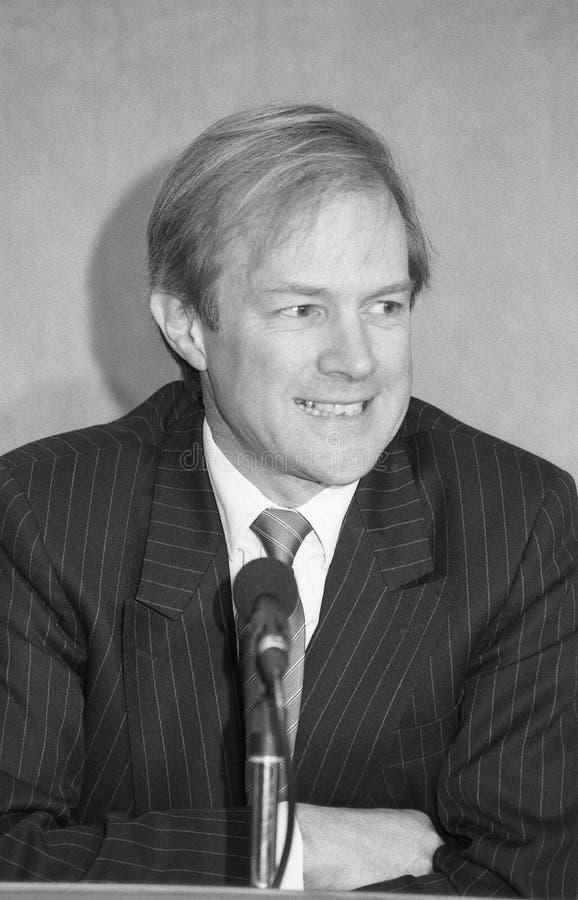 Rt.Hon. Peter Lilley fotografia de stock royalty free