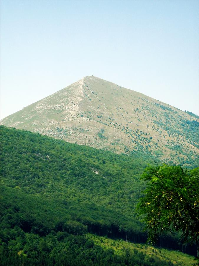 Rtanj mountain - Serbia royalty free stock photos