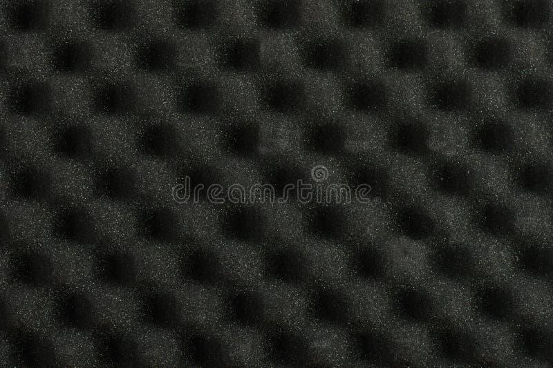 Ruído acústico sadio cinzento que absorve imagem de stock
