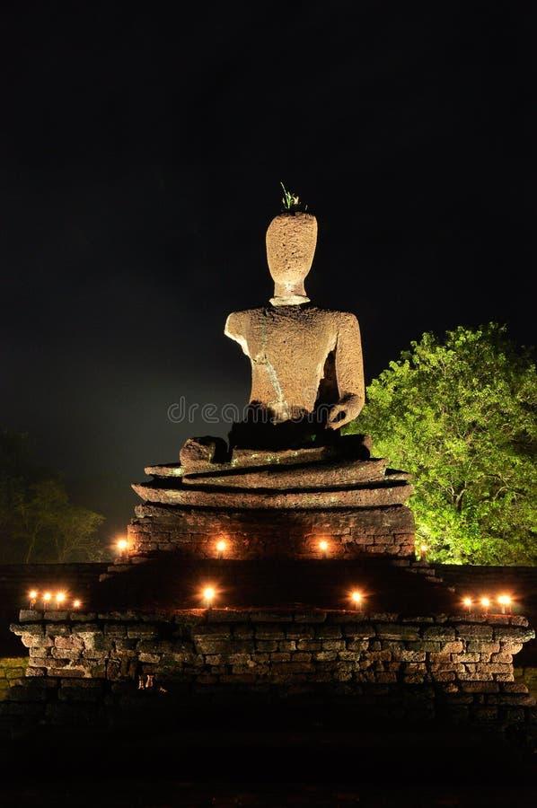 Ruína da imagem de buddha imagens de stock royalty free