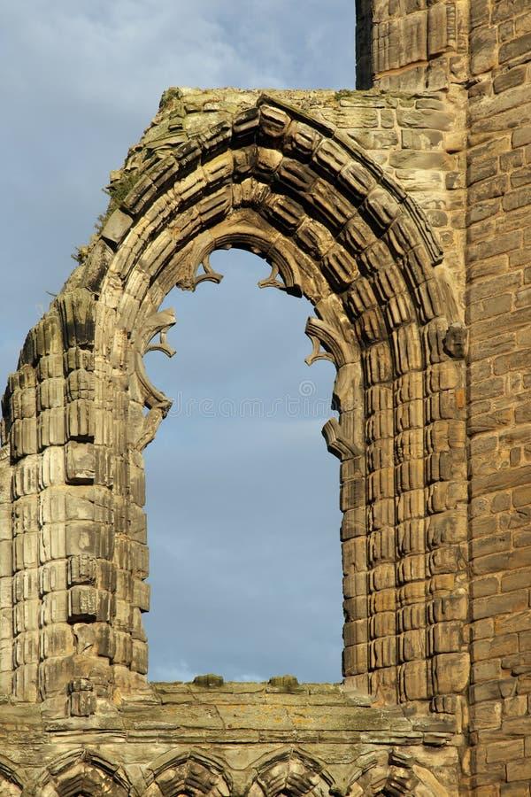 Ruína de St Andrews Cathedral em St Andrews imagens de stock royalty free
