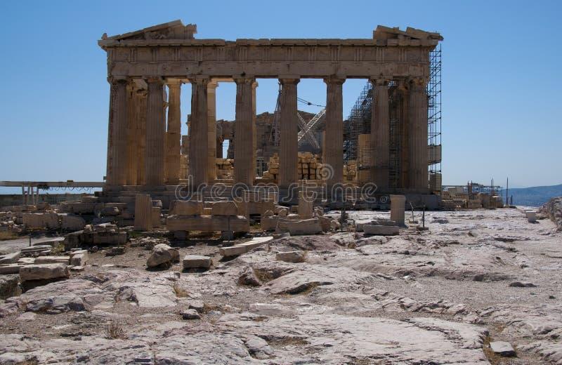 Ruína do acropolis foto de stock royalty free