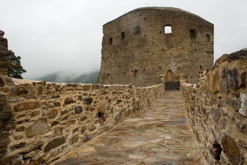 Ruína do castelo imagens de stock