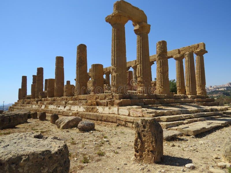 Ruína romana foto de stock