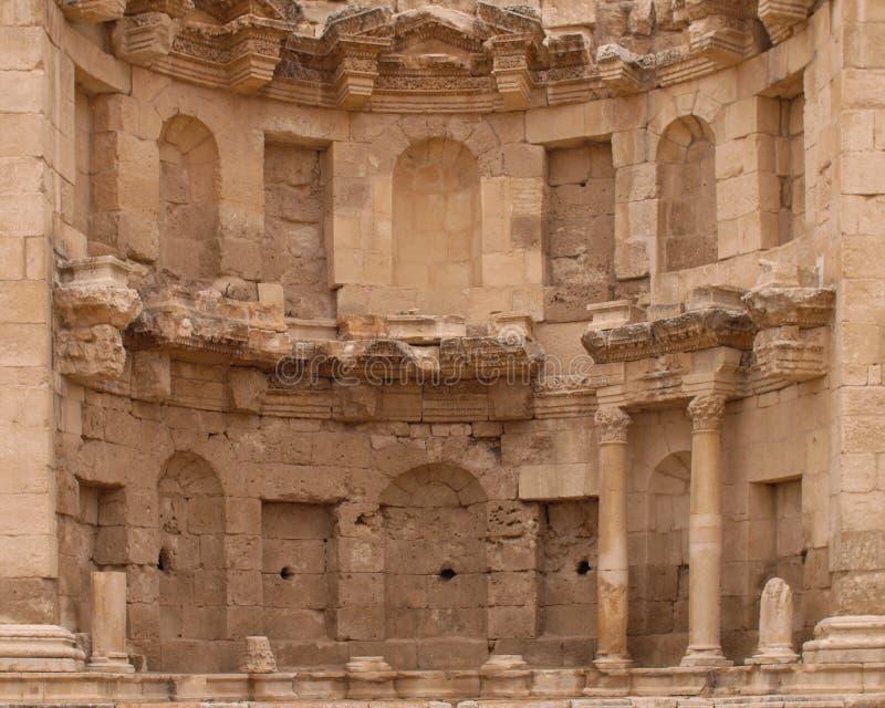 Ruína romana fotografia de stock