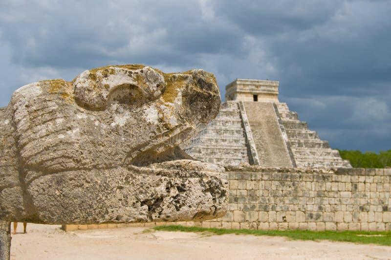Ruínas antigas, América Central foto de stock royalty free