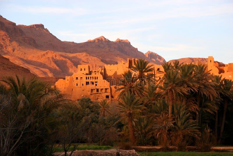 Ruínas antigas em Marrocos fotografia de stock