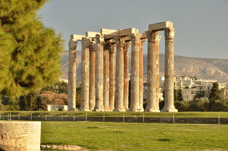 Ruínas Atenas imagens de stock royalty free