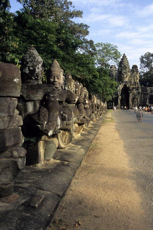 Ruínas Cambodia imagem de stock