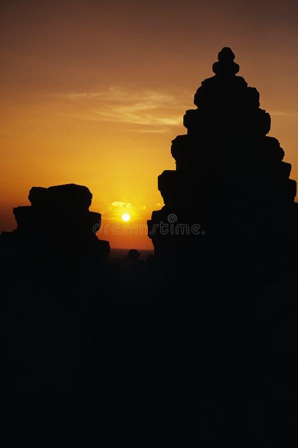 Ruínas Cambodia imagem de stock royalty free