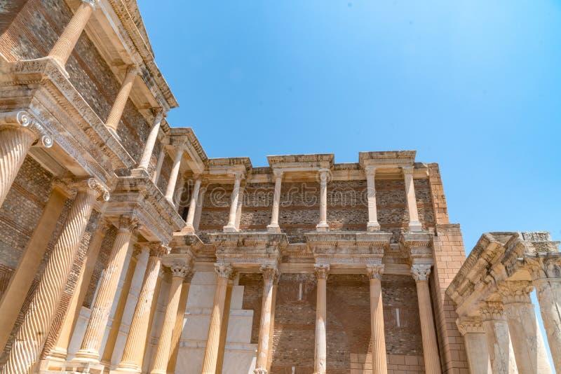 Ruínas da cidade antiga de Sardes foto de stock royalty free