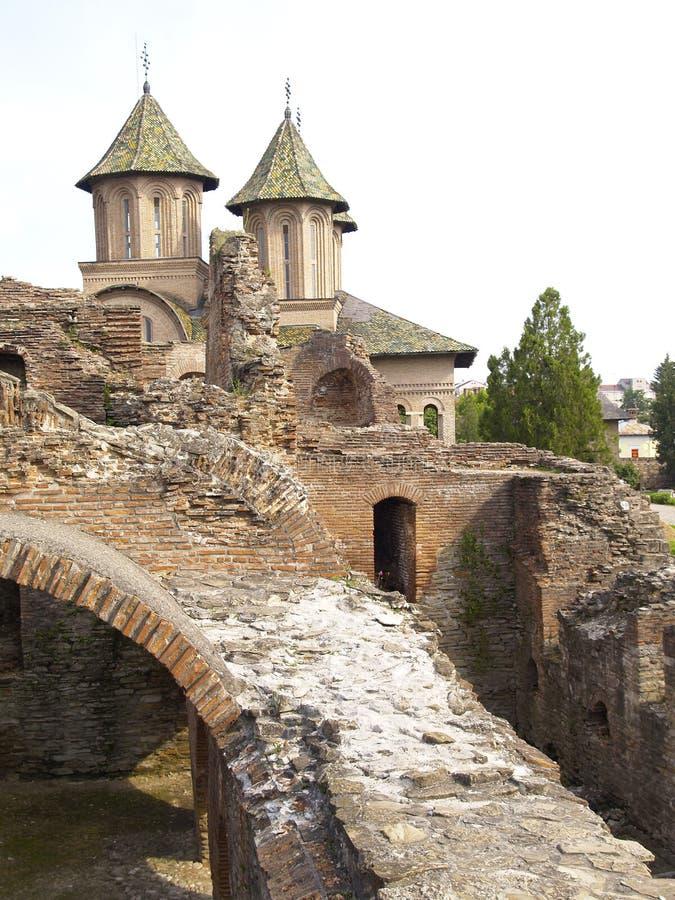 Ruínas da igreja imagens de stock royalty free