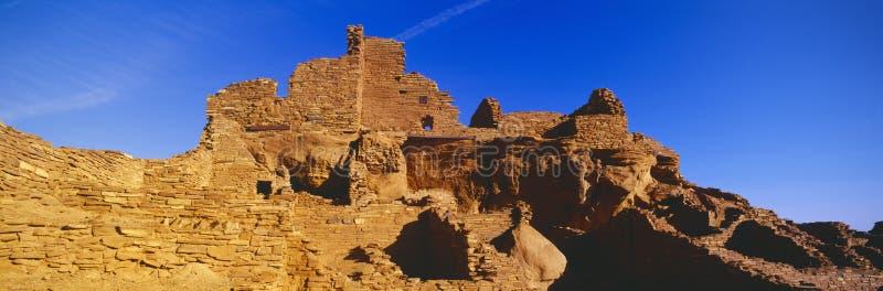 Ruínas da vila do Hopi dos anos de idade 900, imagem de stock royalty free