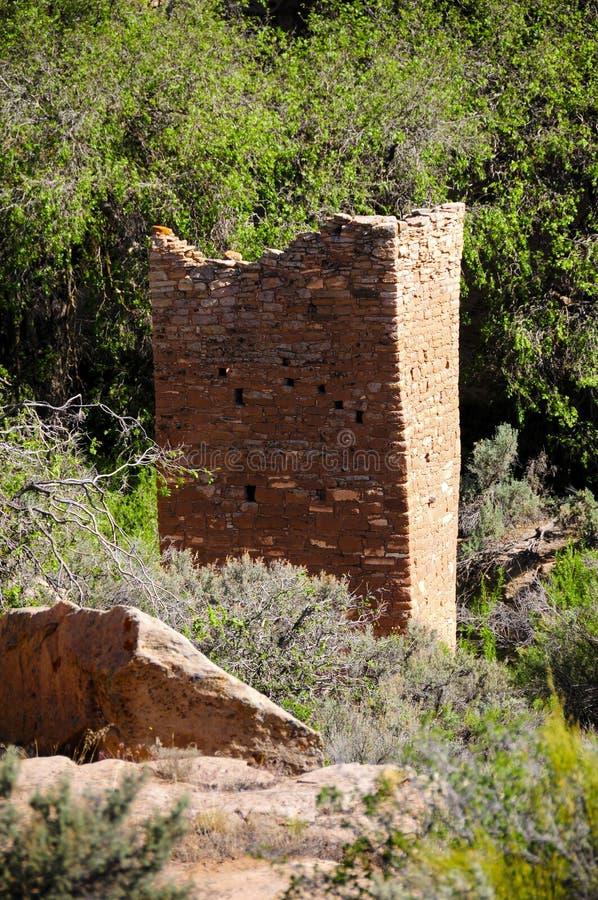 Ruínas de Aanasazi em Hovenweep fotos de stock