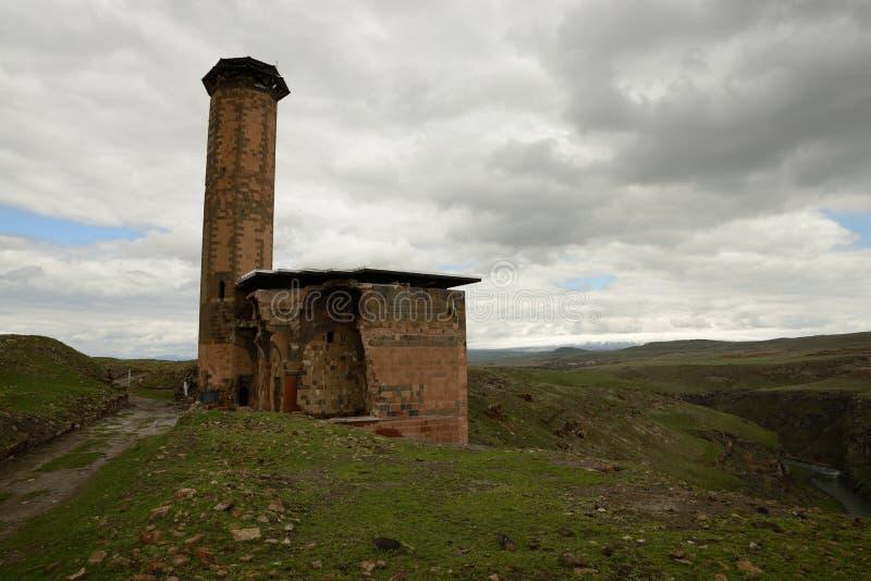 Ruínas de Ani Armenian fotos de stock royalty free