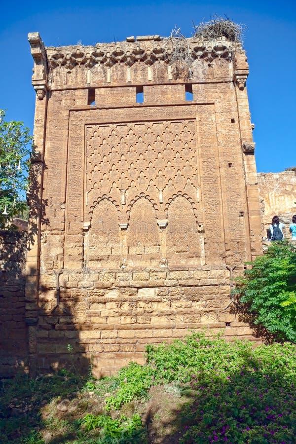 Ruínas de Kellah - Rabat imagens de stock