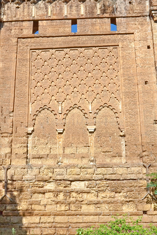 Ruínas de Kellah - Rabat imagens de stock royalty free