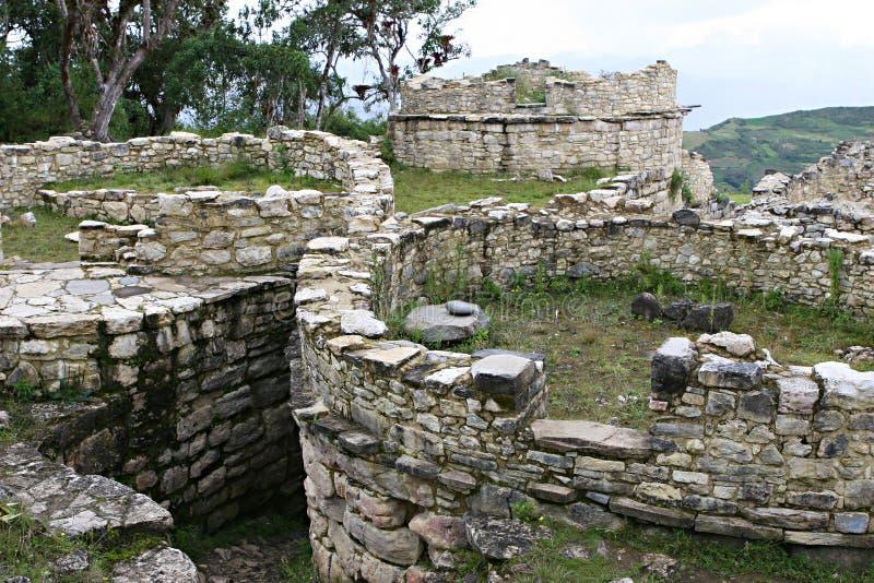 Ruínas de Kuelap fotografia de stock