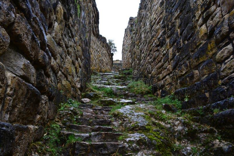 Ruínas de Kuelap, a cidade perdida de Chachapoyas, Peru fotos de stock