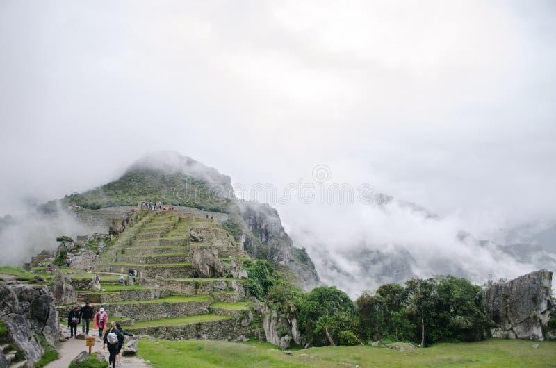Ruínas de Machu Picchu imagem de stock royalty free