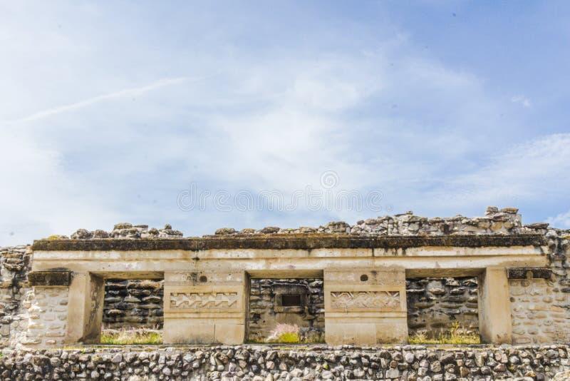 Ruínas de Mitla em Oaxaca México imagens de stock royalty free