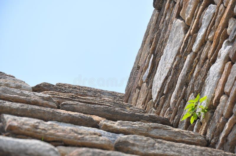 Ruínas de Mixco Viejo, Guatemala imagem de stock