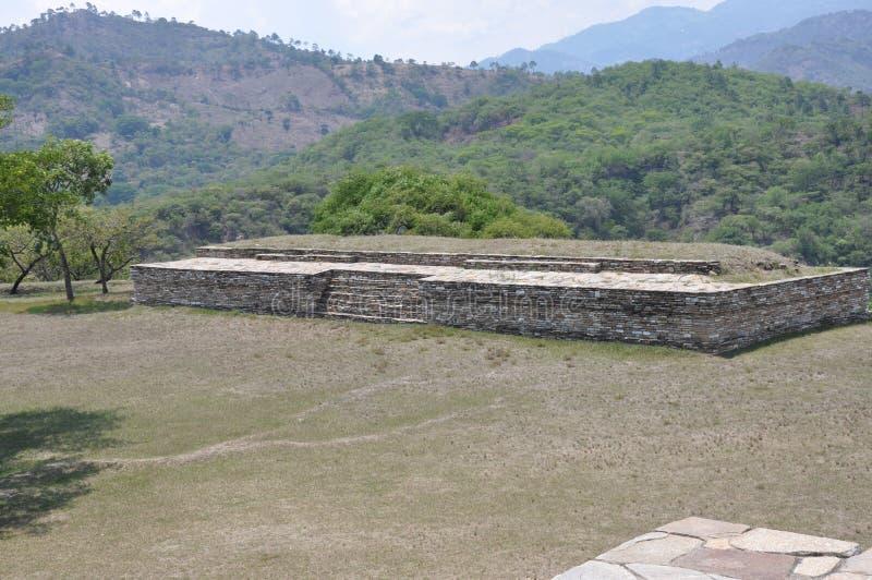 Ruínas de Mixco Viejo, Guatemala foto de stock