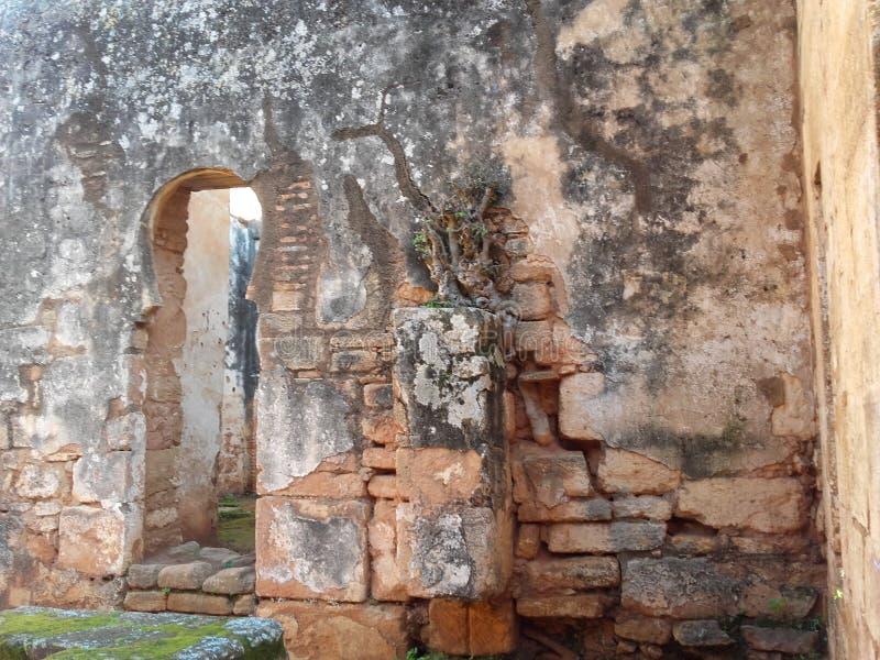 ruínas de rabat imagens de stock