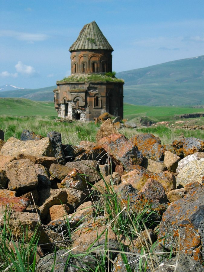 Ruínas do Armenian imagem de stock royalty free