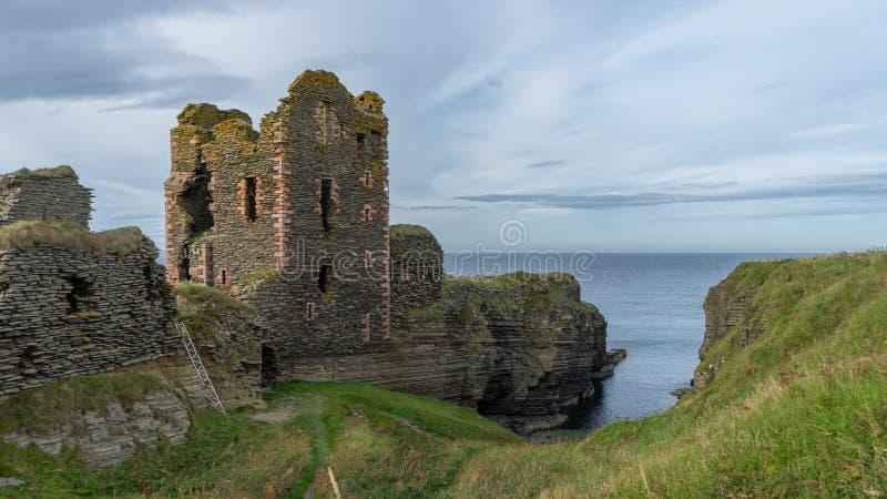 Ruínas do castelo de Alistair fotos de stock royalty free