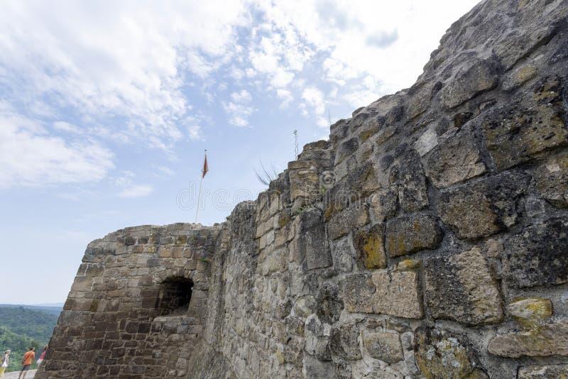 Ruínas do castelo de Sirok fotografia de stock royalty free