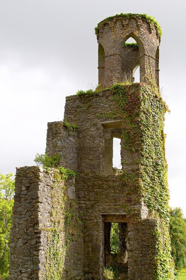 Ruínas do castelo do Blarney imagem de stock royalty free