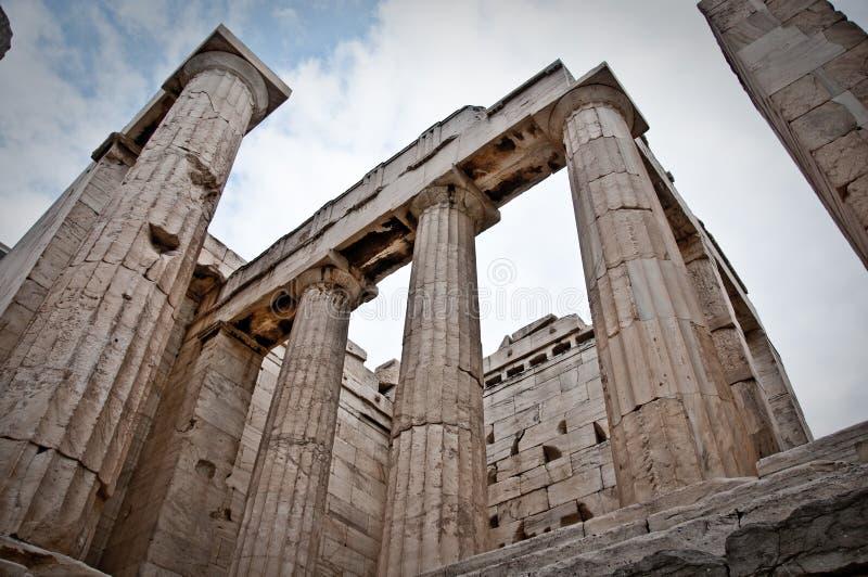 Ruínas do grego fotografia de stock