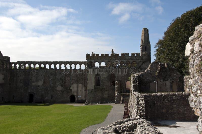 Ruínas do palácio dos Bishops imagem de stock royalty free