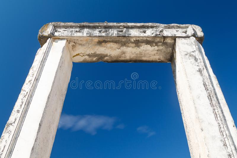 Ruínas do santuário antigo Lagina foto de stock royalty free