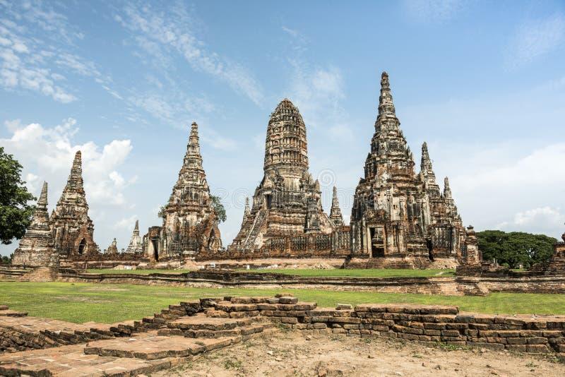 Ruínas do templo antigo fotos de stock royalty free