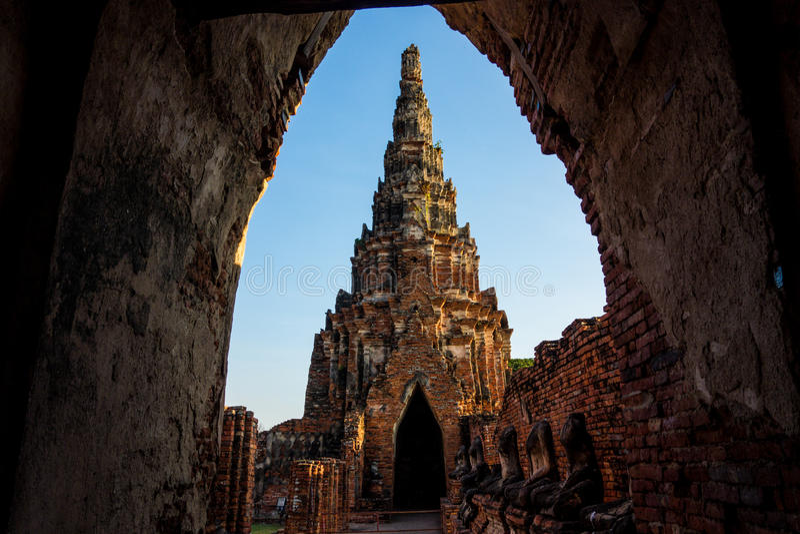 Ruínas do templo de Tailândia imagem de stock royalty free