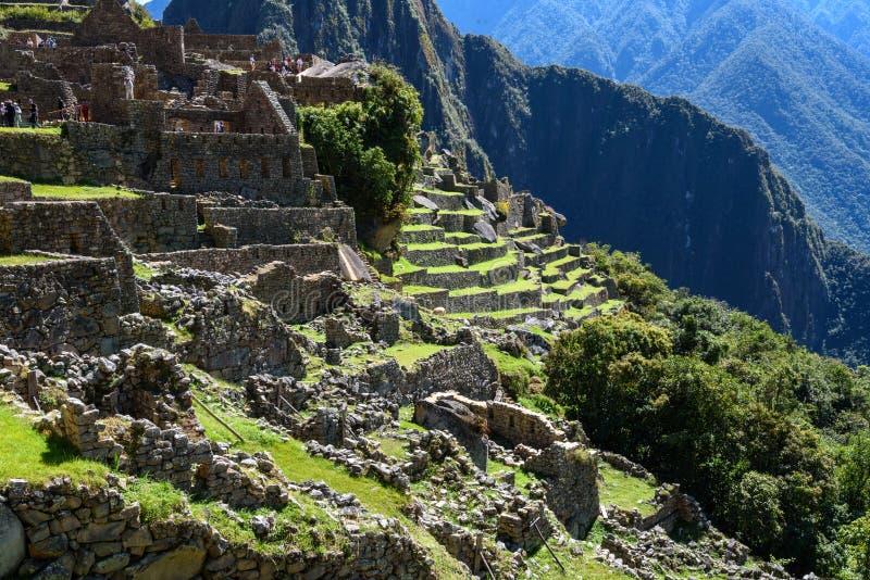 Ruínas em Machu Picchu, Peru imagens de stock royalty free