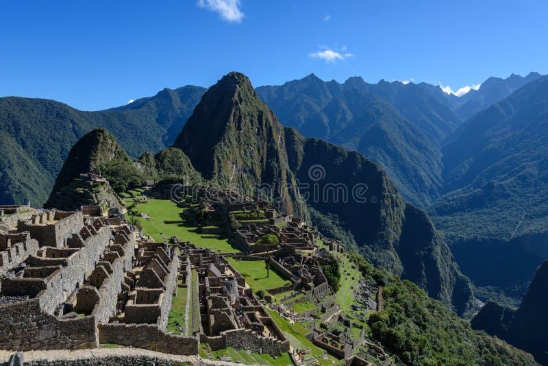 Ruínas em Machu Picchu, Peru fotos de stock