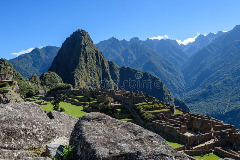Ruínas em Machu Picchu, Peru imagem de stock royalty free