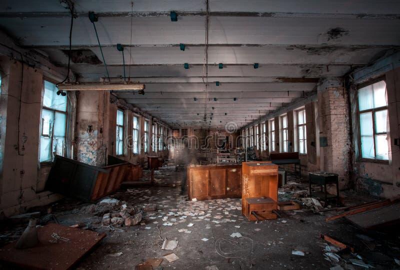 ruínas indoor imagem de stock royalty free