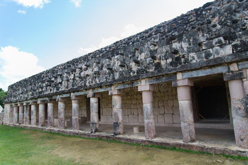 Ruínas maias em Uxmal Iucatão fotografia de stock