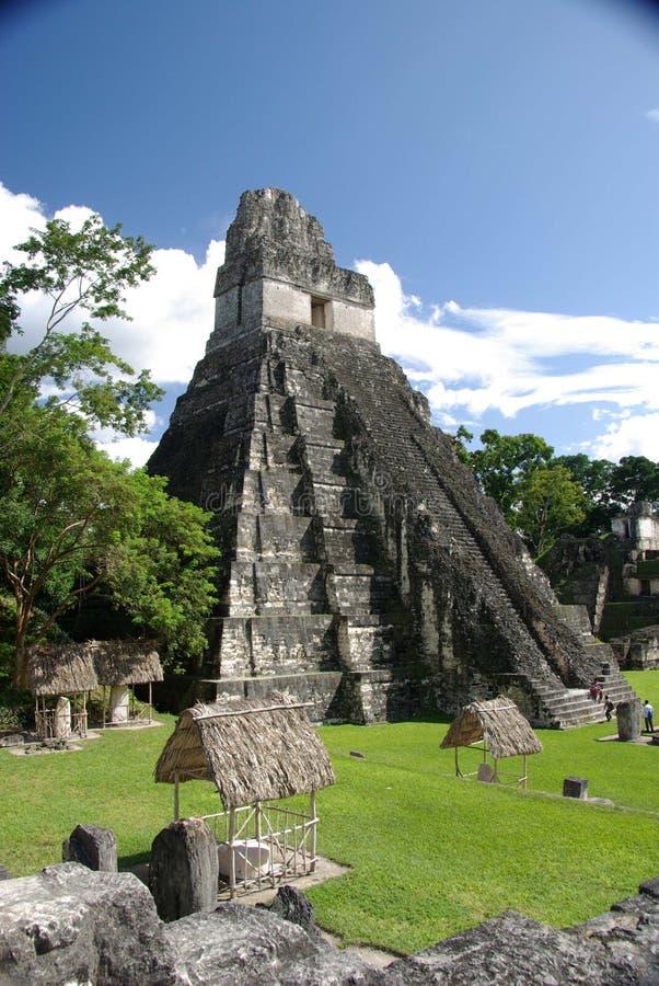 Ruínas maias na Guatemala fotos de stock