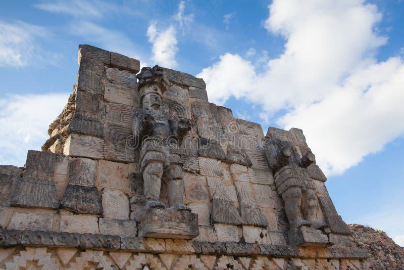Ruínas majestosas de Kabah, México imagem de stock royalty free