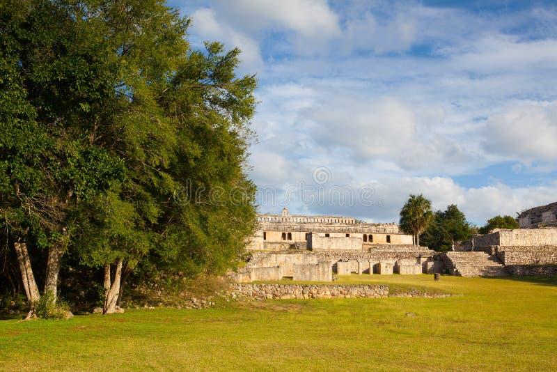 Ruínas majestosas de Kabah, México fotografia de stock