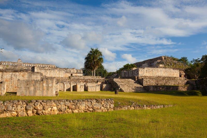 Ruínas majestosas de Kabah, México foto de stock royalty free