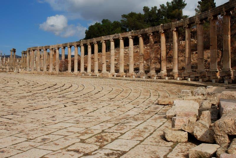 Ruínas romanas fotografia de stock royalty free
